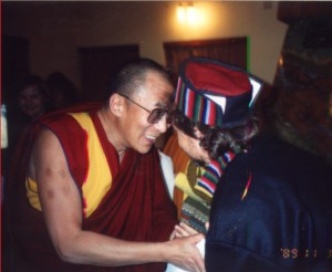 Photo-Art with Dalai Lama copy 1