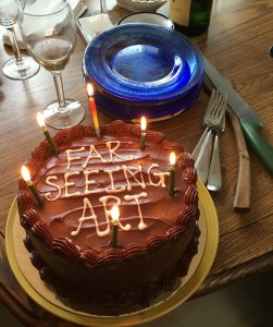 Reunion FAR SEEING ART CAKE