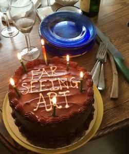 Reunion FAR SEEING ART CAKE