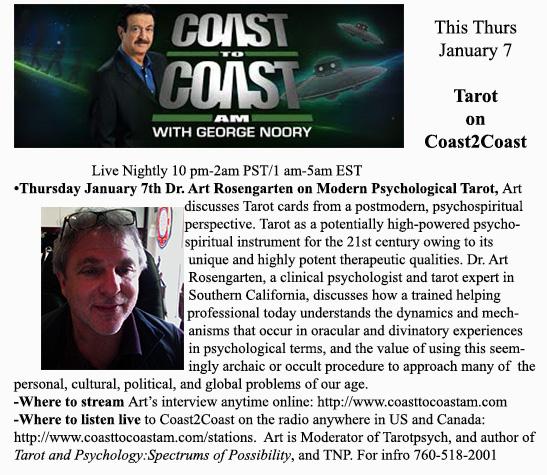 Tarot on Coast Ad