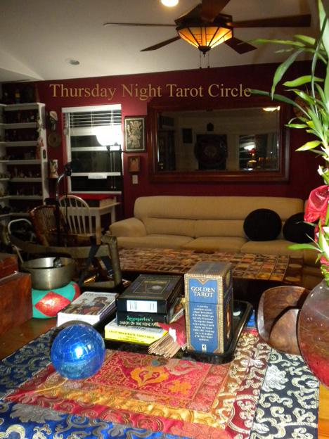 Thursday Night Tarot Circle MINI
