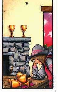 Tarot-5 of Cups-Connolly