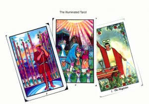 Illuminated Tarot samplas