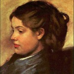 Degas--beautiful woman