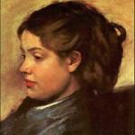 Degas--beautiful woman