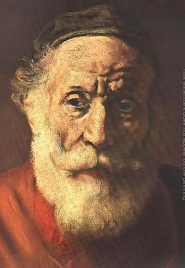 Portrait-Of-An-Old-Man-In-Red-