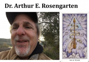 Arthur E. Rosengarten w Ace of Staves R